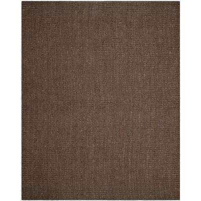 Natural Fiber Brown 8 ft. x 10 ft. Area Rug