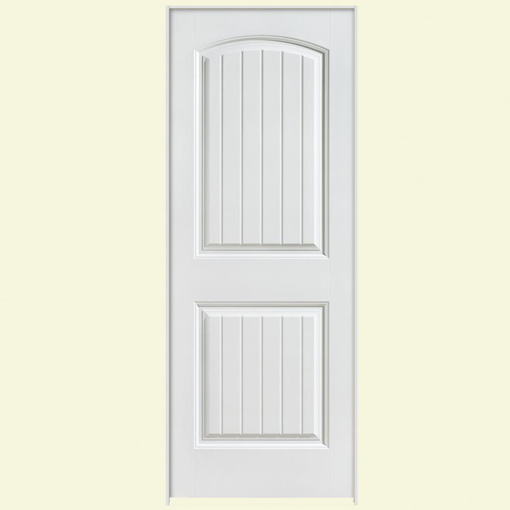 Solidoor Cheyenne Smooth 2-Panel Solid Core Composite Single Prehung Interior Door