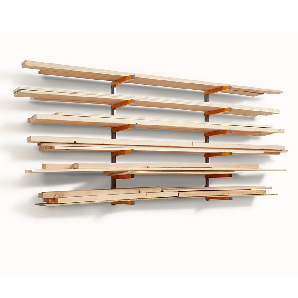 Wood Storage Organizer Rack