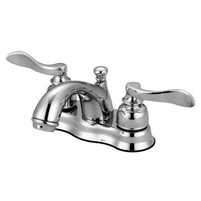 Bolton 4 in. Centerset 2-Handle High-Arc Bathroom Faucet in Chrome