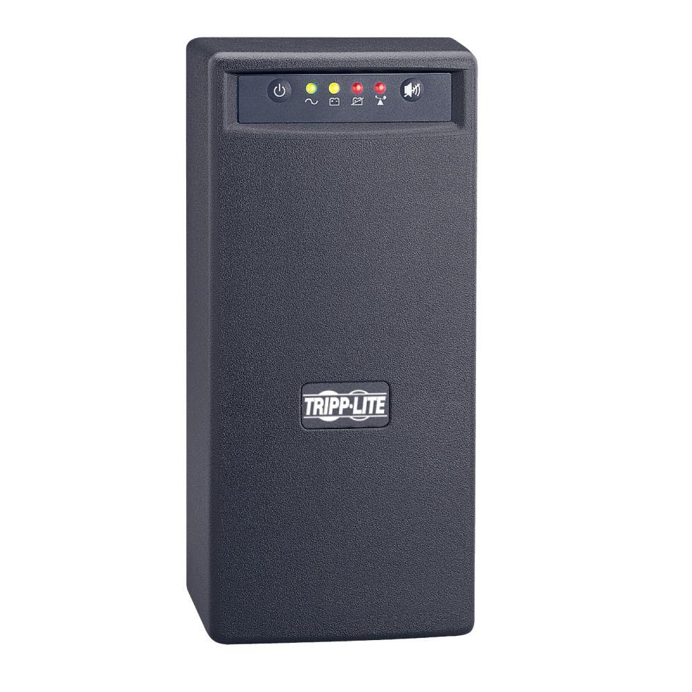Tripp Lite 750VA 450-Watt UPS Battery Back Up to-Watter AVR 120-Volt USB RJ45