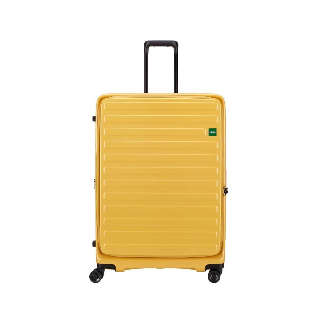 Cubo 30.5 in. Mustard Hardside Spinner Suitcase