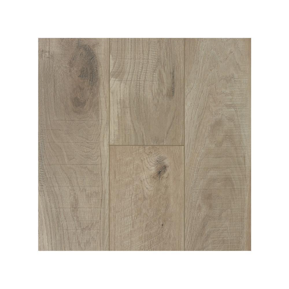 Take Home Sample - Barnwood 12 mm Laminate Flooring 7.68 in. W x 8 in. L