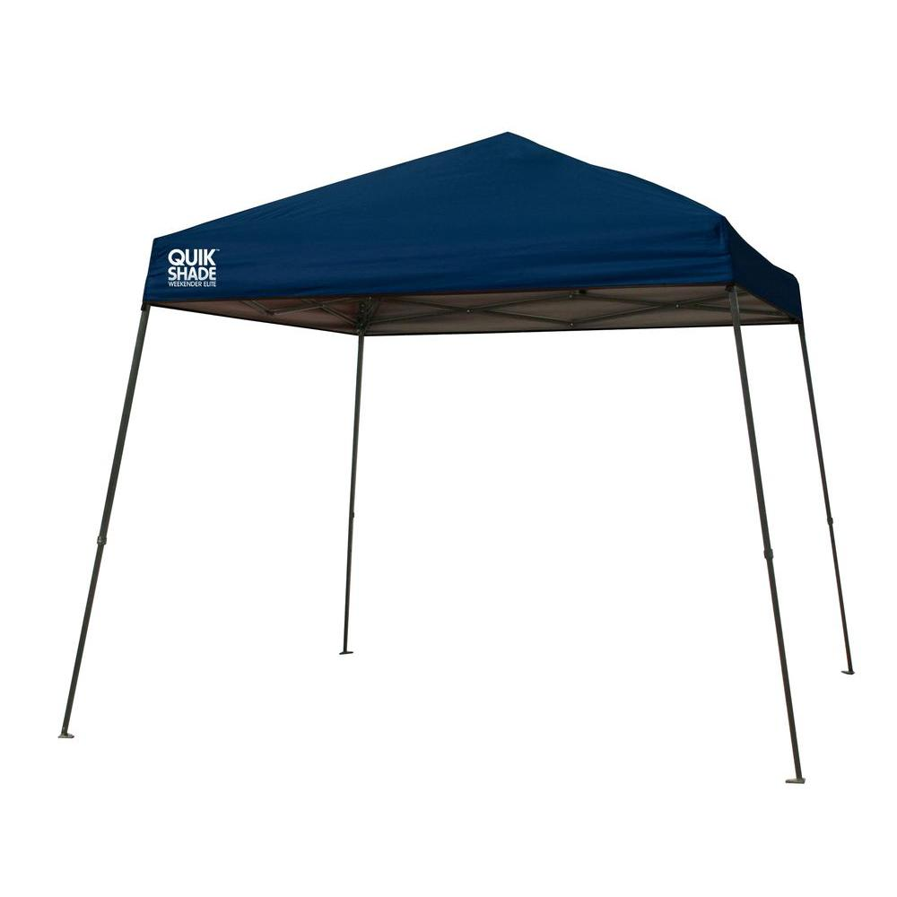 wholesale dealer e1c15 cd0cc Quik Shade Weekender Elite 12 ft. x 12 ft. Navy Blue Instant Canopy