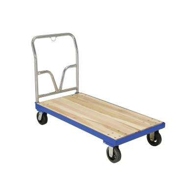 1,600 lb. Capacity 24 in. x 48 in. Hardwood Platform Cart