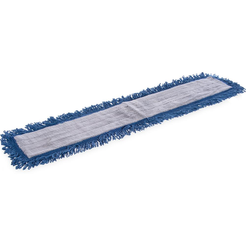 Carlisle 24 in  x 5 in  Cotton Blend Dust Mop Head (12-Pack)