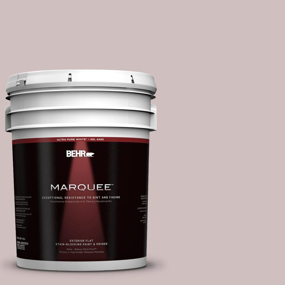 BEHR MARQUEE 5-gal. #110E-3 Dusky Violet Flat Exterior Paint