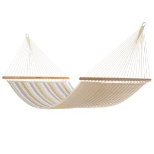 Pawleys Island 13 ft. Sunbrella Quilted Hammock in Milano Dawn by Pawleys Island