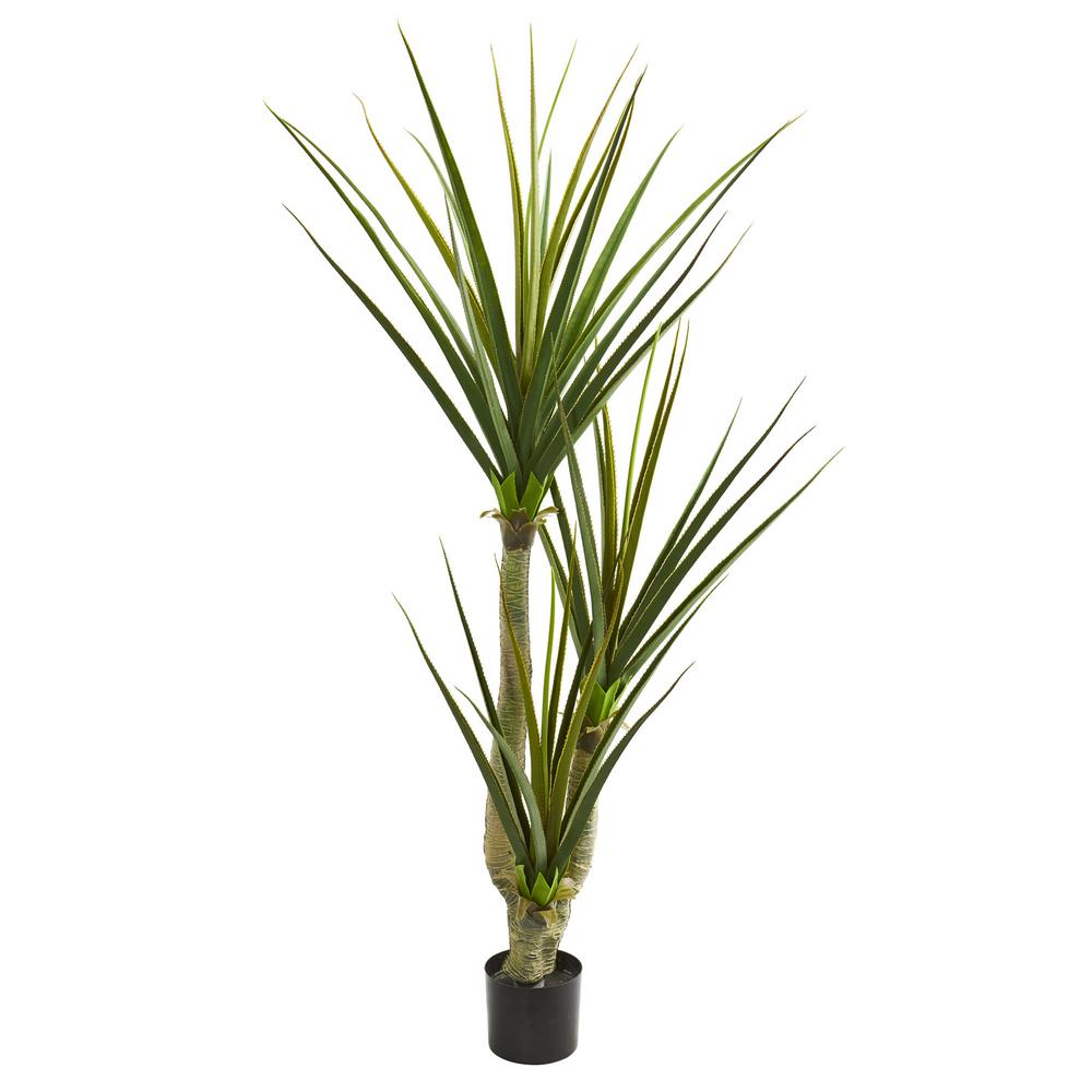 Nearly Natural Indoor 76 In Yucca Artificial Plant 6344