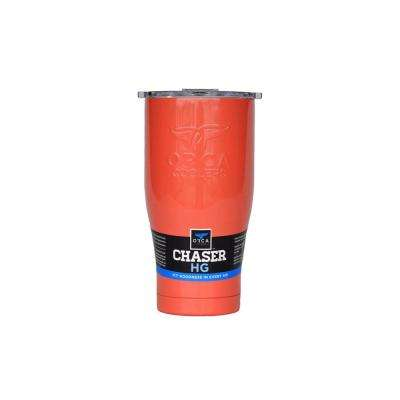 ORCA Chaser 27 oz. Coral/Clear