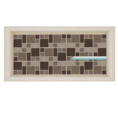 Tuscany 24 in. x 4 in. x 12 in. Shower Niche in Desert Sand