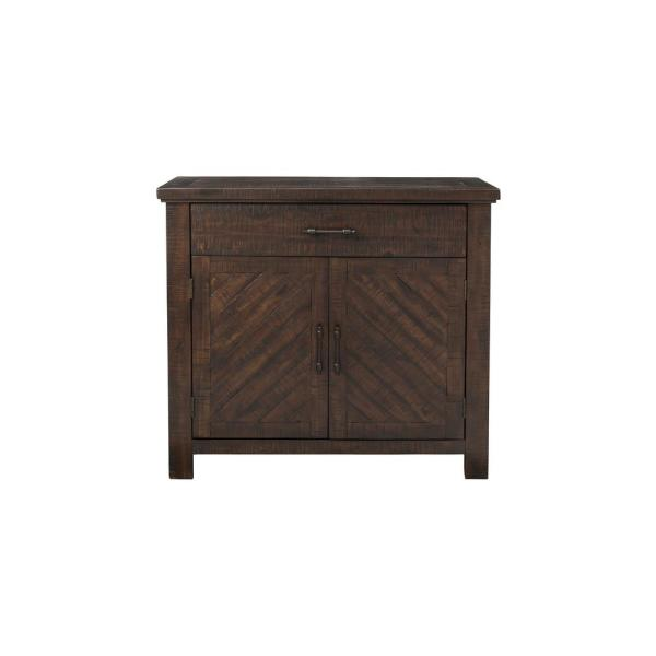 undefined Walnut Paige Accent Chest