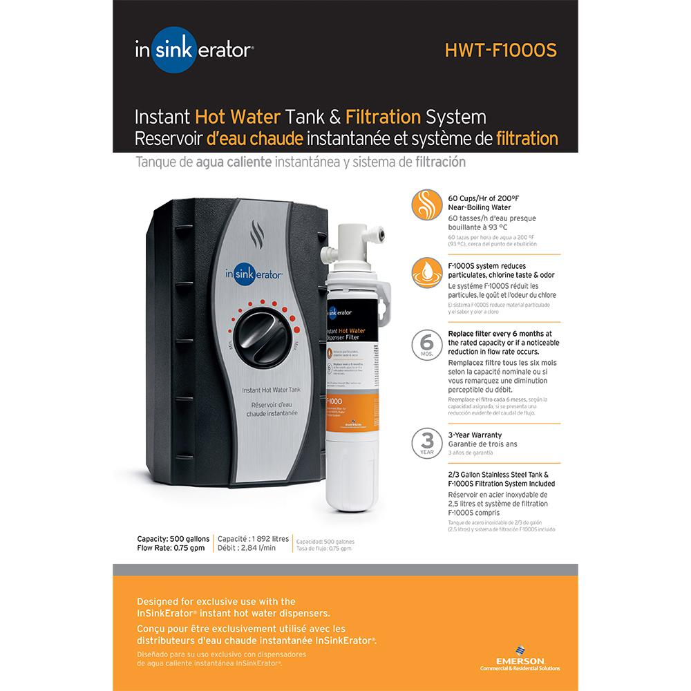 Hot Water Tank And Filtration System