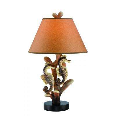 Exceptional 26.5 In. Dark Brown Table Lamp
