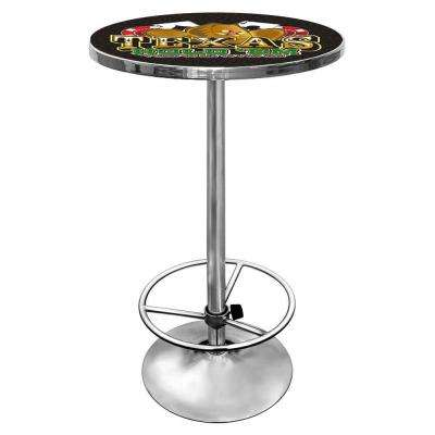 Texas Hold 'em Chrome Pub/Bar Table