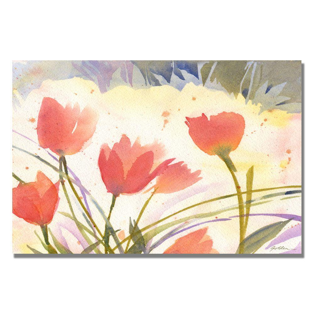 null 35 in. x 47 in. Spring Song Canvas Art