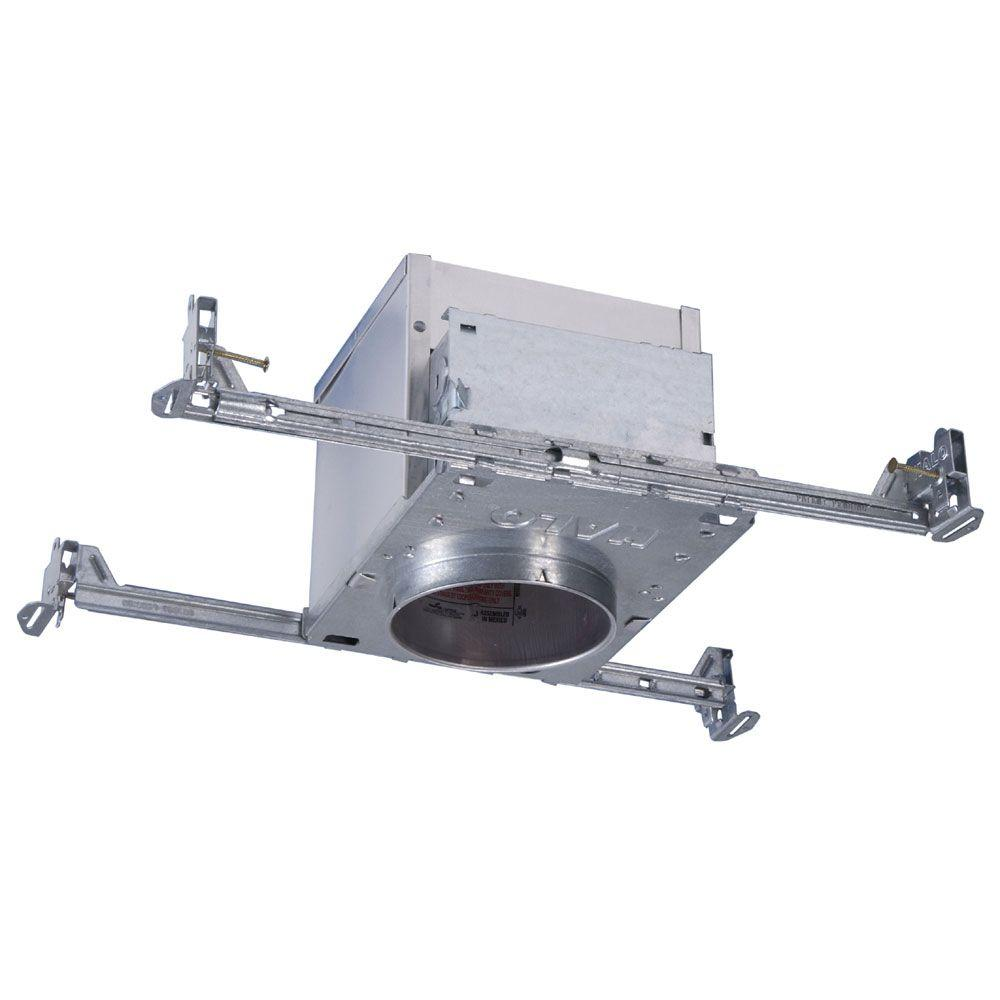 Halo H995 4 in. Aluminum LED Recessed Lighting Housing for New Construction Ceiling, T24, Insulation Contact, Air-Tite