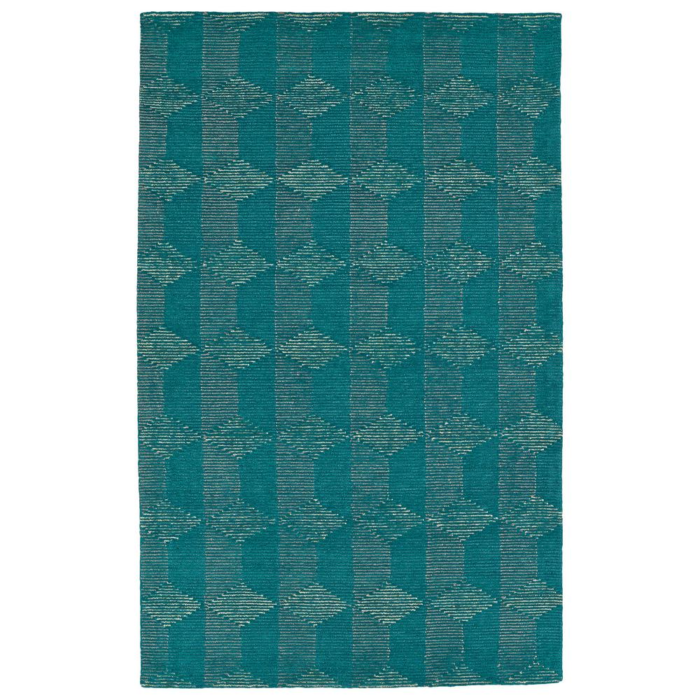 Evanesce Teal 3 ft. 6 in. x 5 ft. 6 in.