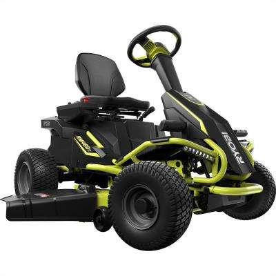 38 in. 100 Ah Battery Electric Riding Lawn Mower