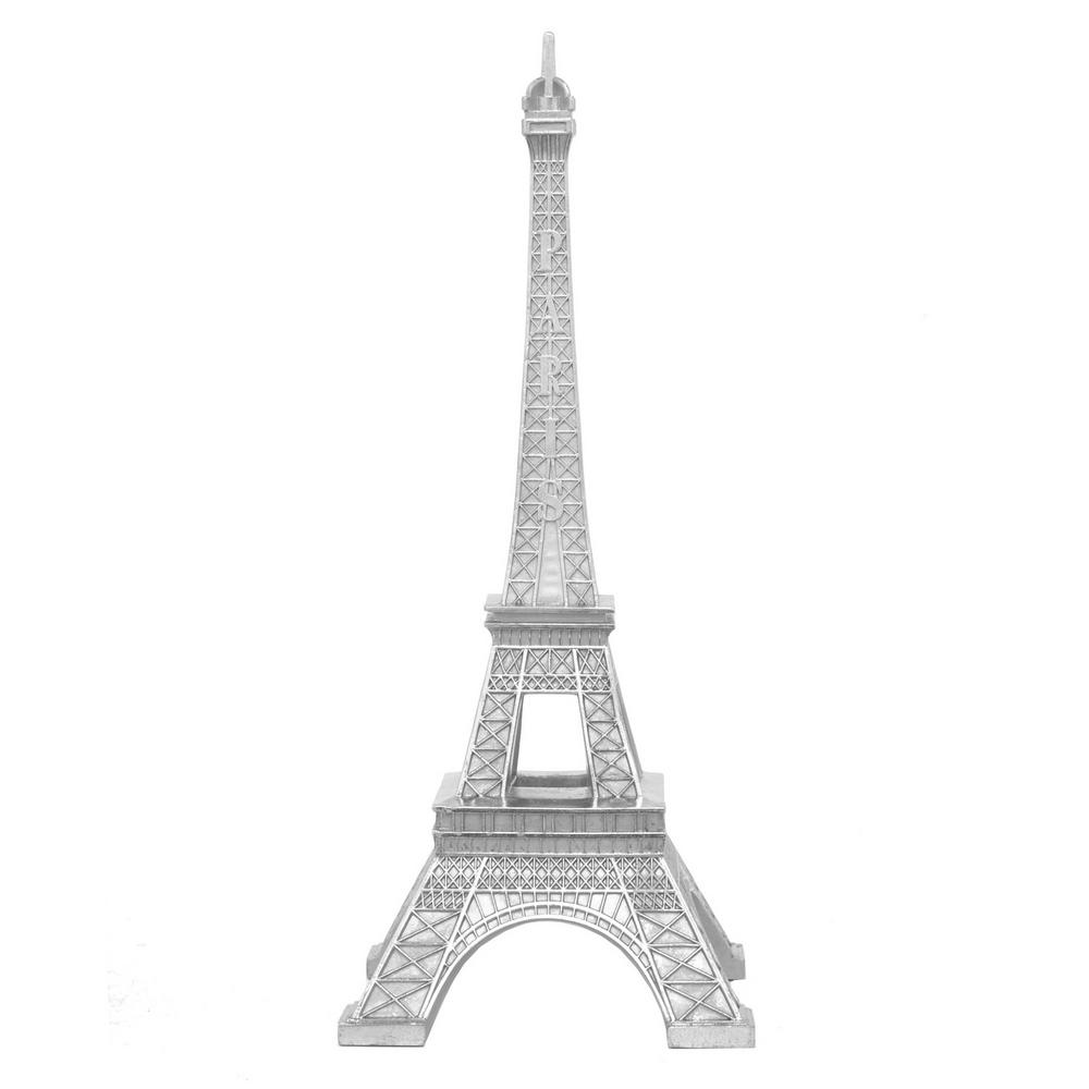Three Hands Silver Eiffel Tower 29089 The Home Depot
