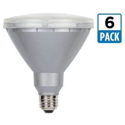 90W Equivalent Cool White PAR38 LED Flood Light Bulb (6-Pack)