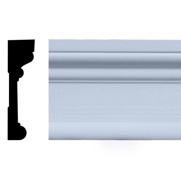 11/16 in. x 2-1/2 in. x 84 in. Primed Finger-Jointed Pine Casing Set with Corner Blocks (5-Piece)