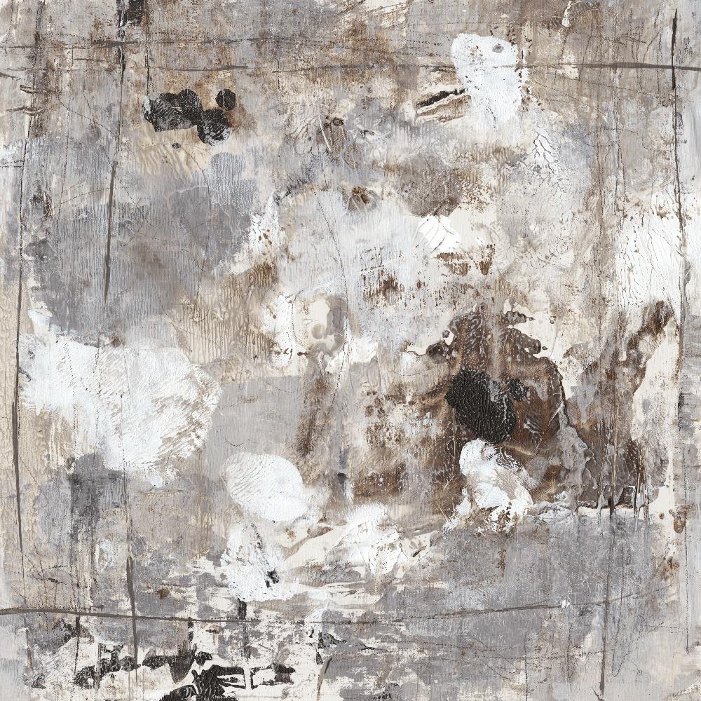 """54 in. x 54 in. """"Neutral Jostle I"""" by Tim OToole Wall Art"""