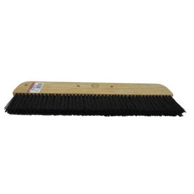 18 in. Wood Concrete Finishing Broom Head