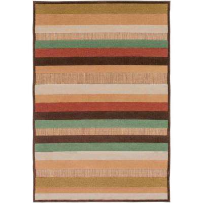 Striped - 5 X 7 - Outdoor Rugs - Rugs - The Home Depot
