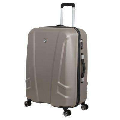 27 in. Champagne Hardside Spinner Suitcase