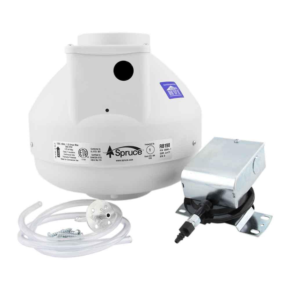 SDB190P 4 in. Dryer Boost Fan