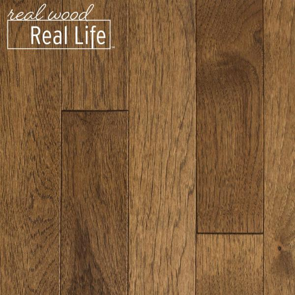 Hickory Sable 3/4 in. Thick x 3 in. Wide x Random Length Solid Hardwood Flooring (24 sq. ft. / case)