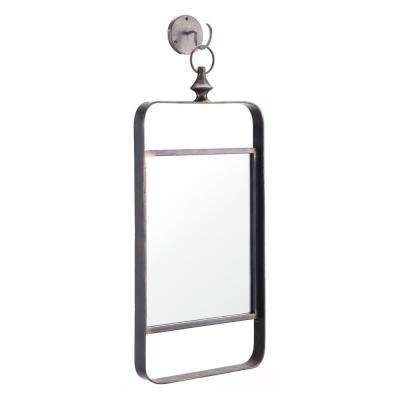 Rectangle Black Decorative Mirror II