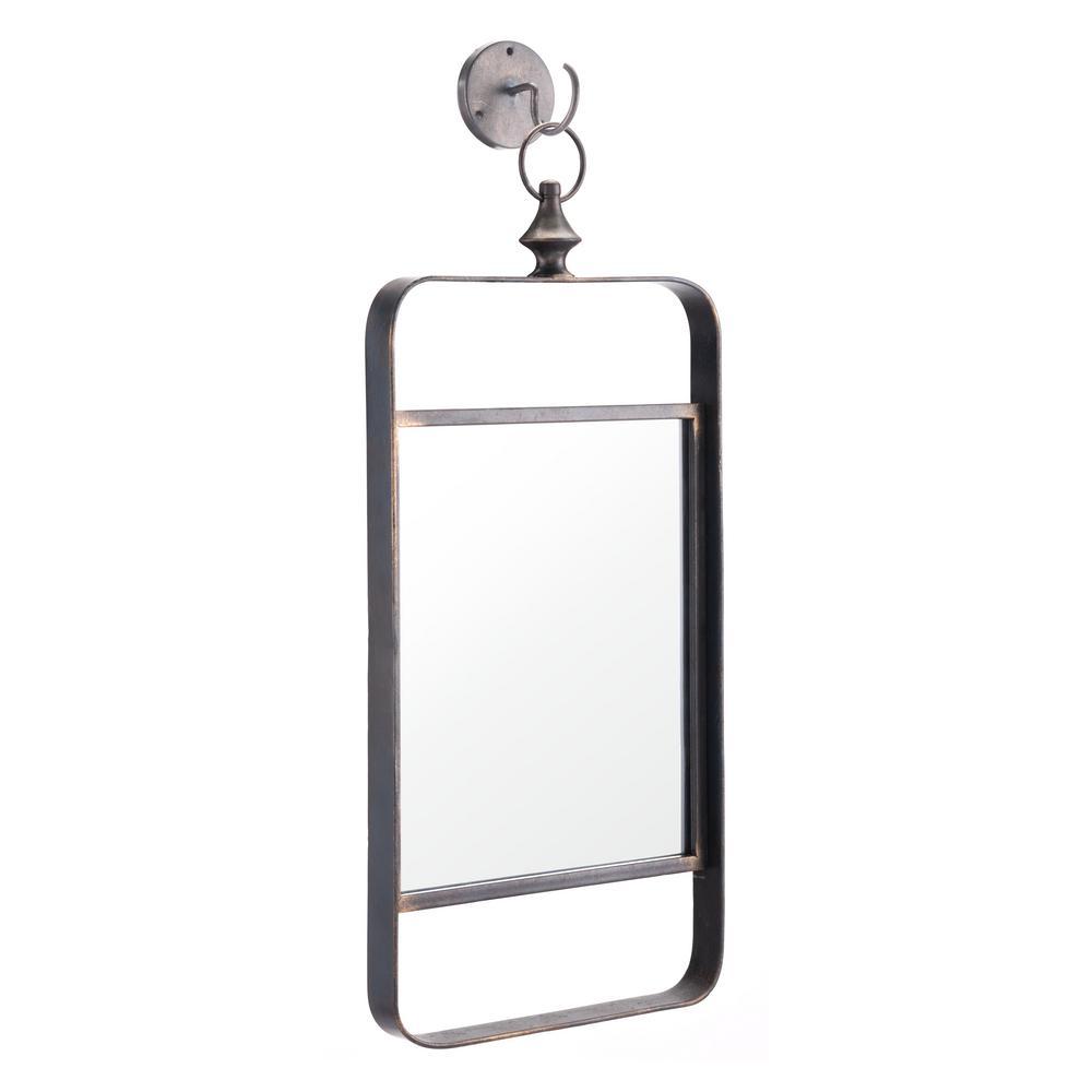 Rectangle Black Decorative Mirror II