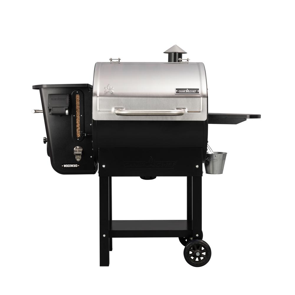 Camp Chef Woodwind WiFi 24 Pellet Grill in Stainless Steel