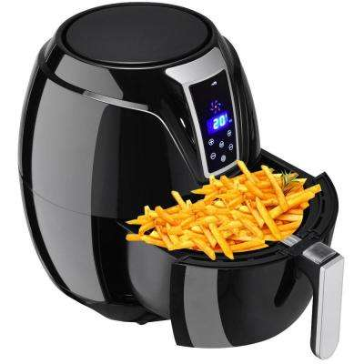 3.4 Qt. 1400-Watt  Electric Air Fryer Oil-less Free Temperature and Time Control