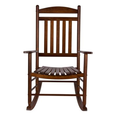 Maine Oak Wood Outdoor Porch Rocker