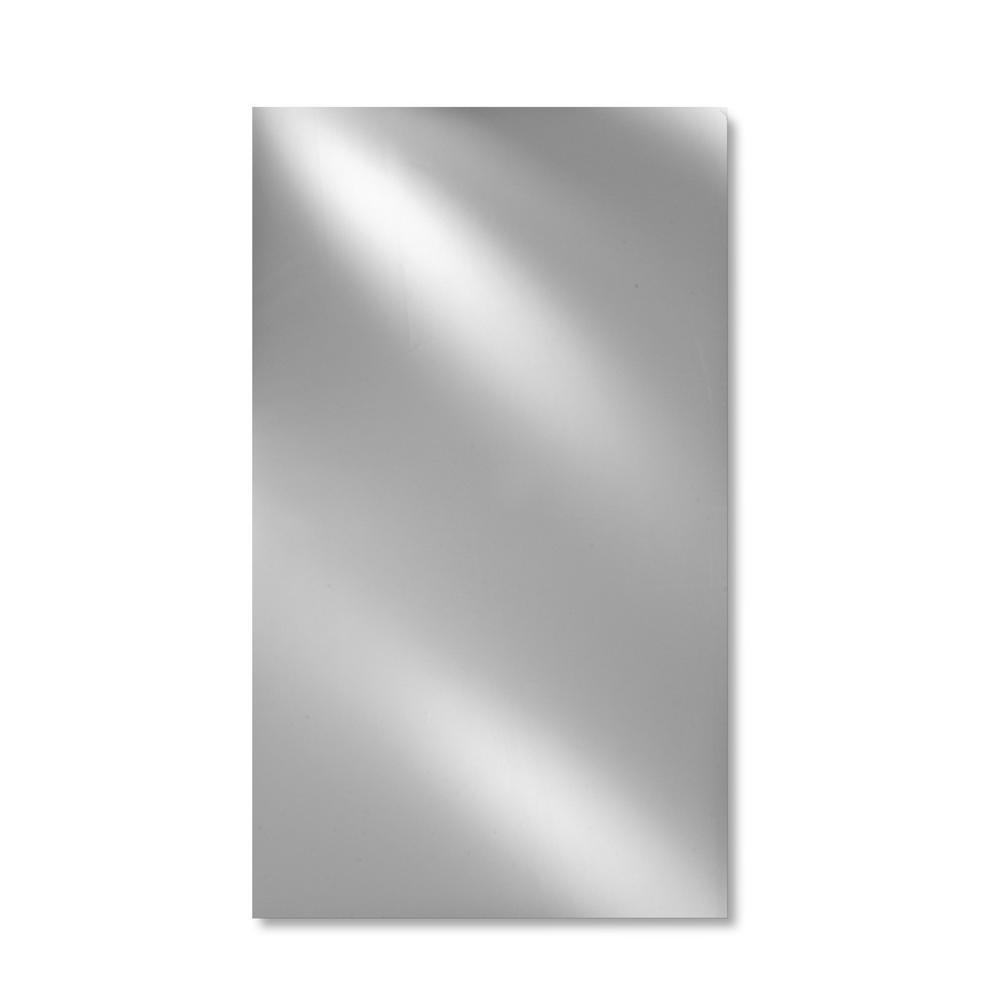 Merveilleux Afina Single Door 16 In. X 26 In. Recessed Medicine Cabinet Basix Polished  Edge