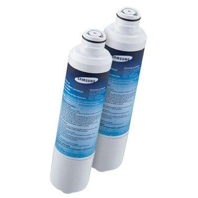 6-Month Refrigerator Water Filter Replacement Cartridge DA29_00020B, Use with System DA97-08043ABC (2-Pack)