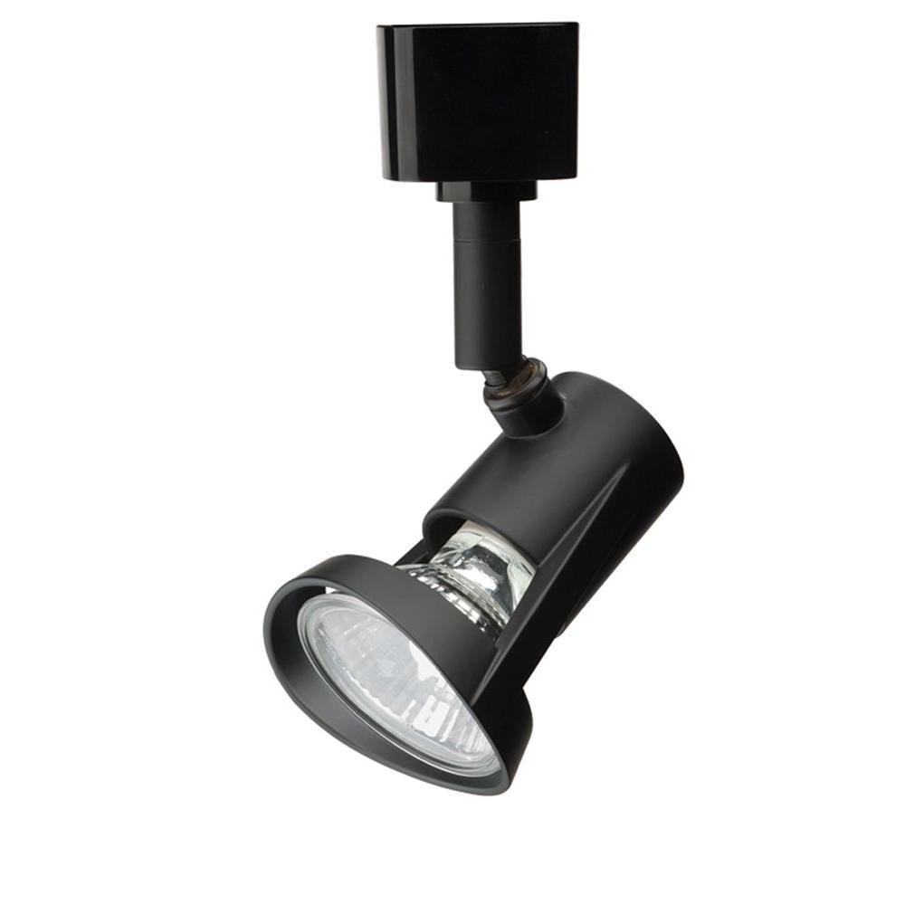 1-Light Black Track Lighting