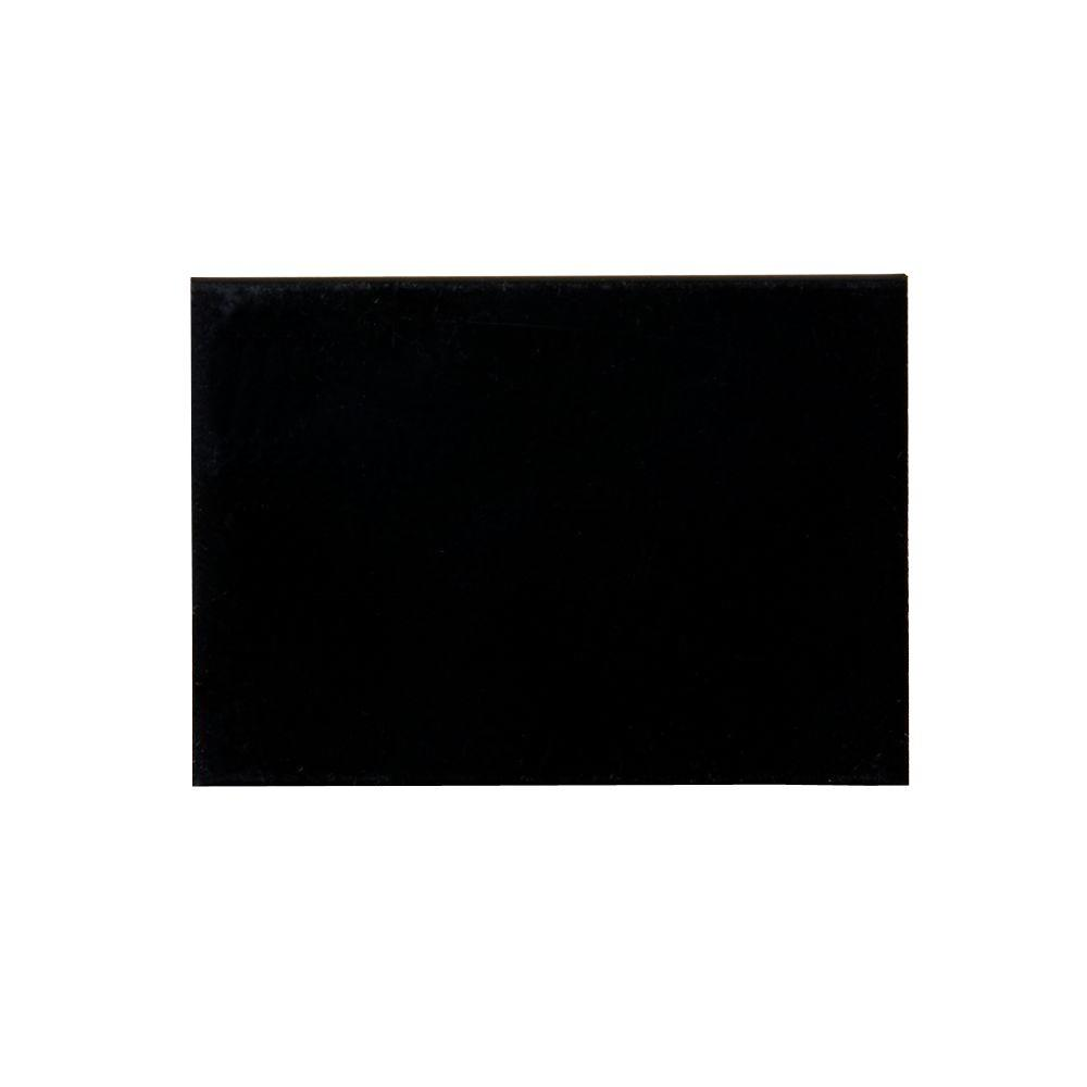 Storm Door Color Sample - Black