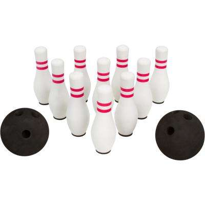 12-Piece Foam Bowling Set 10-Pins and 2-Balls