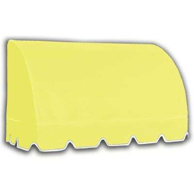 45 ft. Savannah Window/Entry Awning (44 in. H x 36 in. D) in Light Yellow