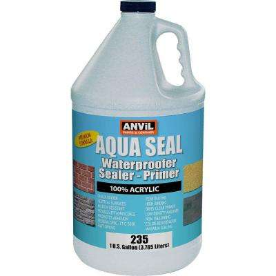 1 gal. AquaSeal Waterproofer Bonding Primer Interior/Exterior Acrylic Clear