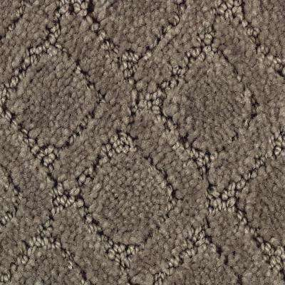 Coastal Lagoon II-Color Gravity Textured 12 ft. Carpet