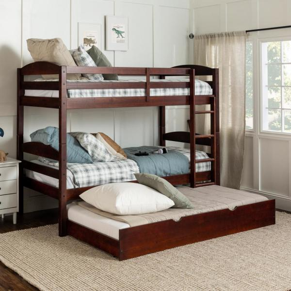Twin Bunk Bed Storage Trundle