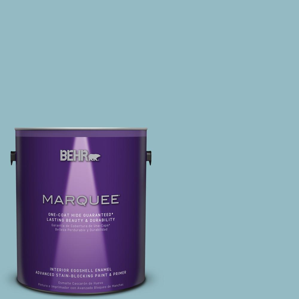 1 gal. #T18-13 Casual Day Eggshell Enamel Interior Paint