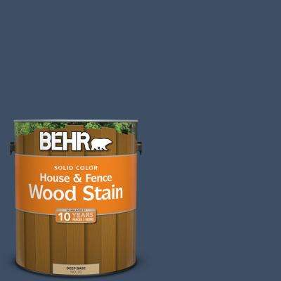1 gal. #580F-7 December Eve Solid Color House and Fence Exterior Wood Stain