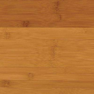 Take Home Sample - Horizontal Toast Solid Bamboo Flooring - 5 in. x 7 in.