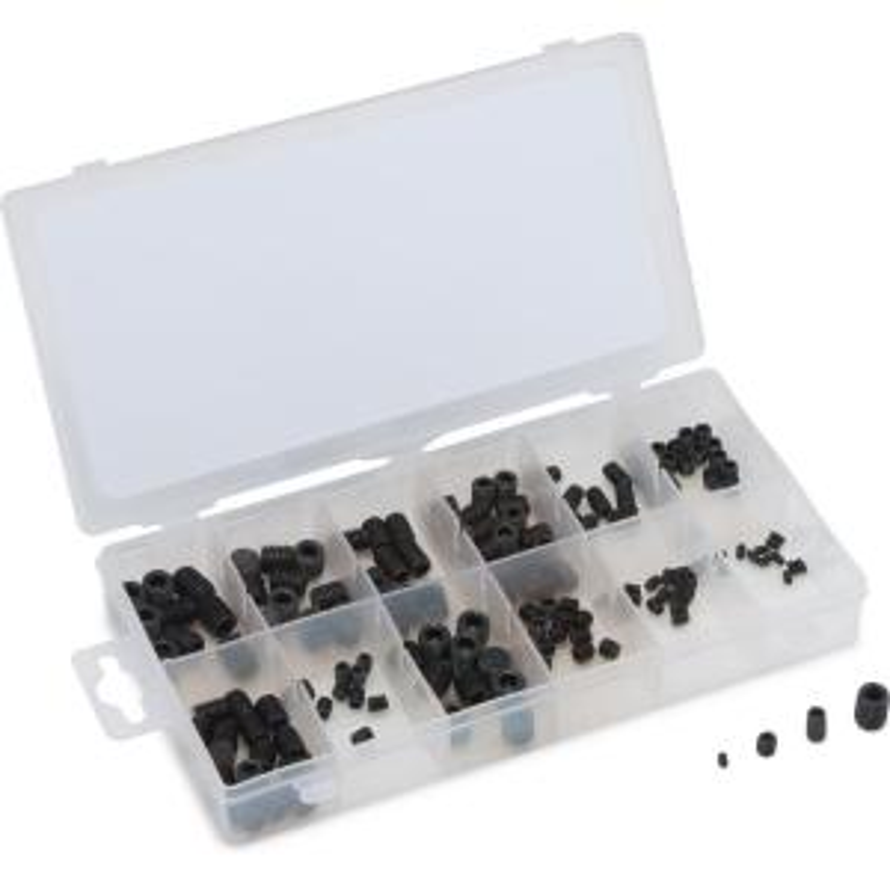 Socket Head Set Screw Assortment 160-Piece Metric by